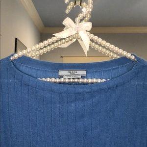 Long sleeve Prada cashmere sweater